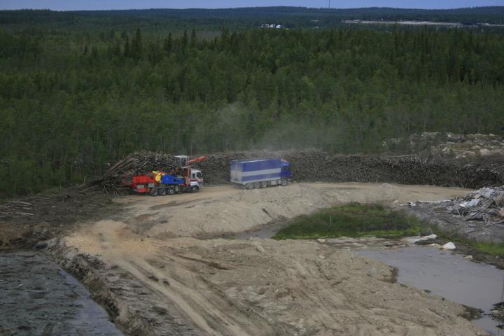 Terminaalihaketusta Rovaniemellä